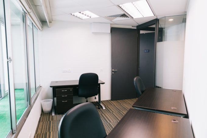 Areta Fitted Offices - Small Window Office Suite